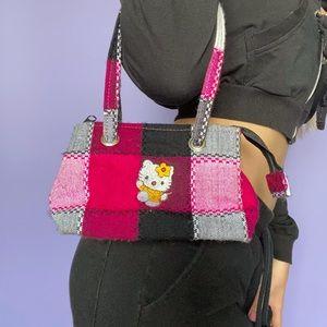 Hello Kitty Mini Plaid Purse